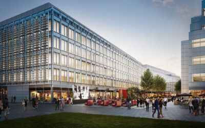 MWA complete the new offices for Anthropics in Media Works, White City Place