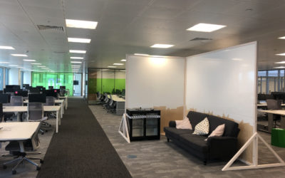 Handover day at Tide